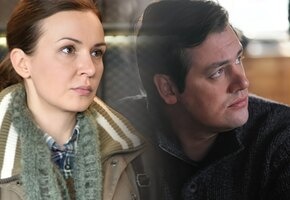 Тараторкина и Дунаев в сериале «Я заплачу завтра» на канале «Домашний»