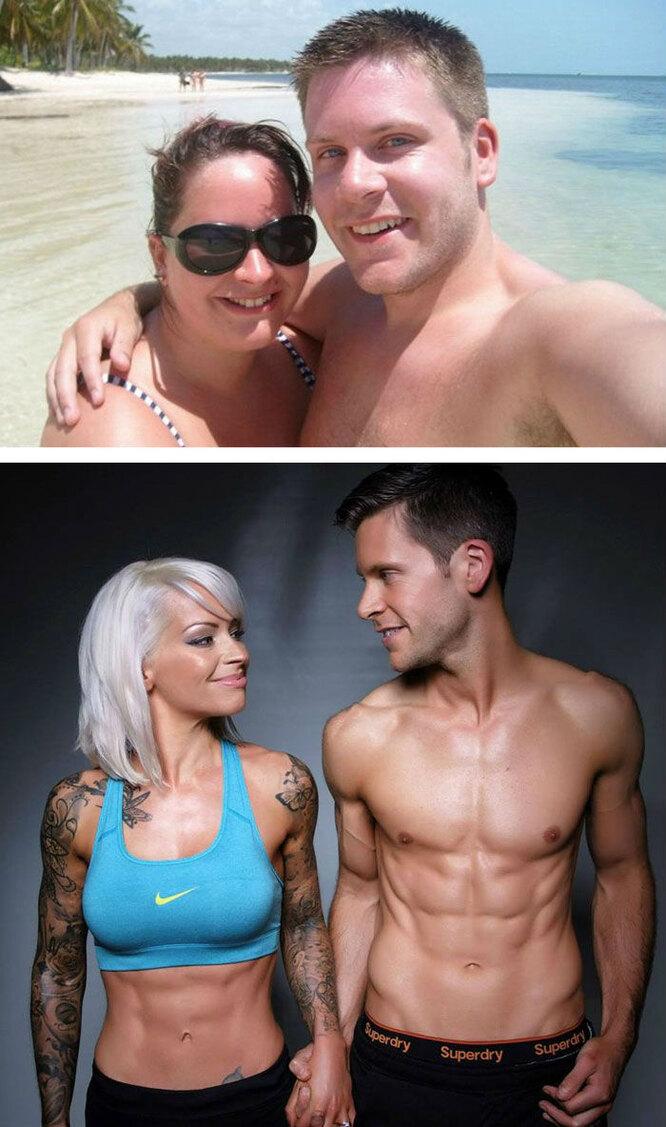 Не поженились, пока не похудели вместе