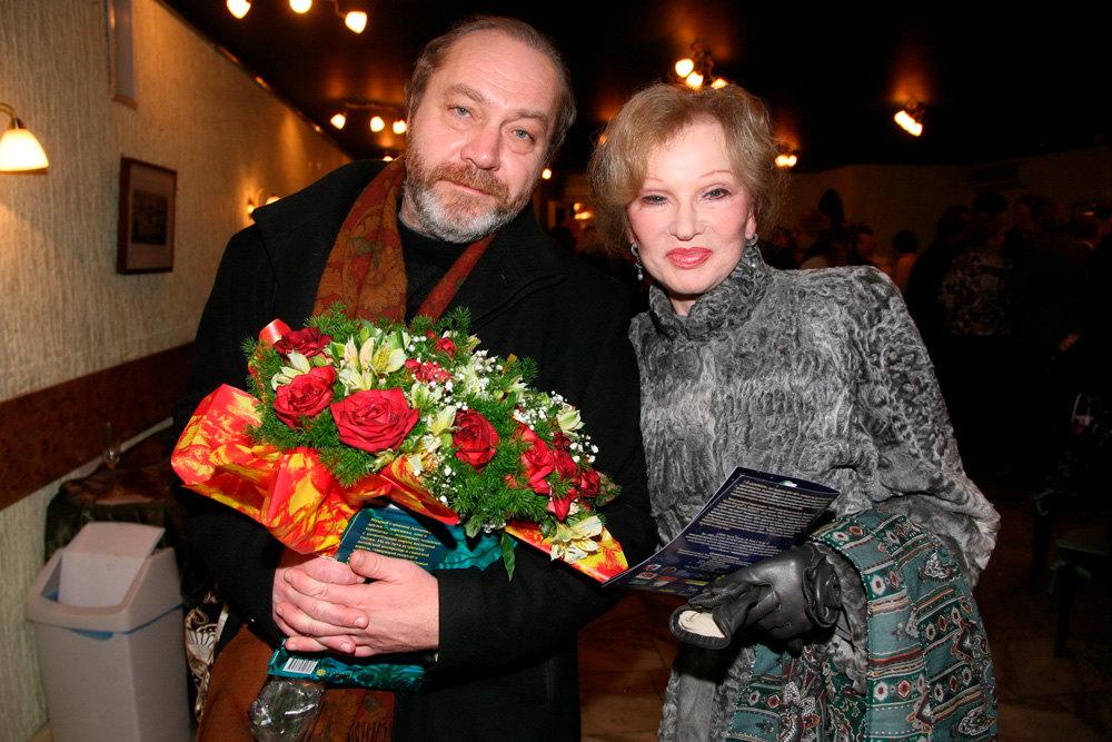 Людмила Гурченко, Сергей Сенин