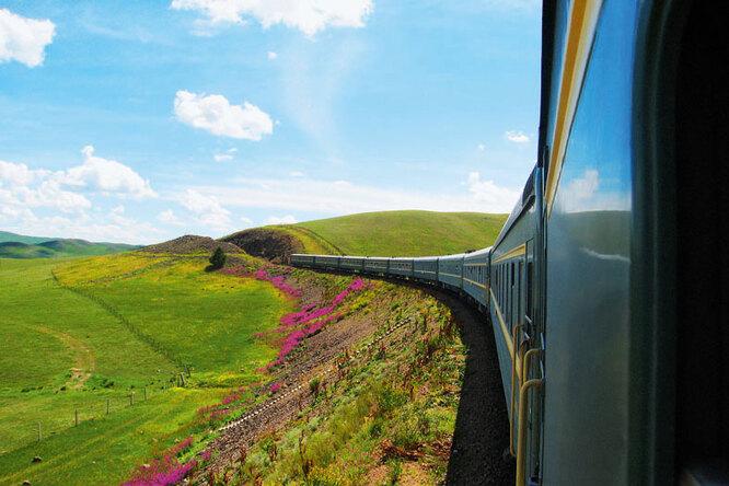 Йога-поезд отправляется впутешествие