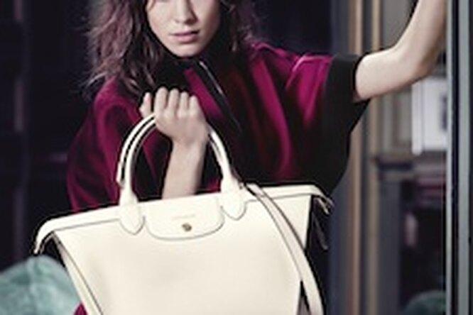 Алекса Чанг — новое лицо Longchamp