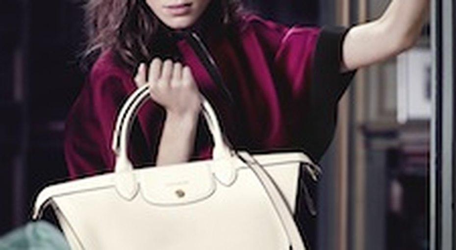 Алекса Чанг - новое лицо Longchamp