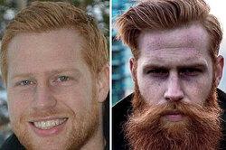 Стилист посоветовал застенчивому клиенту отрастить бороду иизменил его жизнь