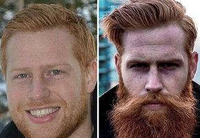Стилист посоветовал застенчивому клиенту отрастить бороду. Это изменило его жизнь