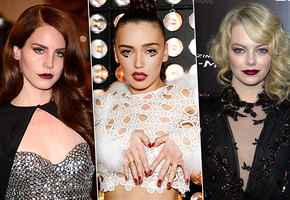 Губы цвета бордо: 7 главных ошибок в макияже на примере звезд