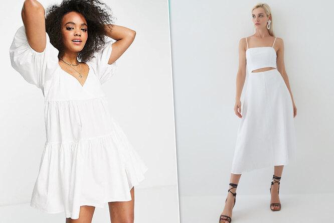 Выход королевы: 5 вариантов белого платья навсе случаи жизни