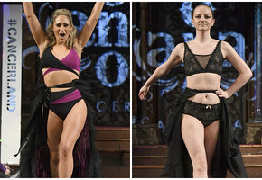 Женщины, пережившие рак и удаление груди, стали моделями