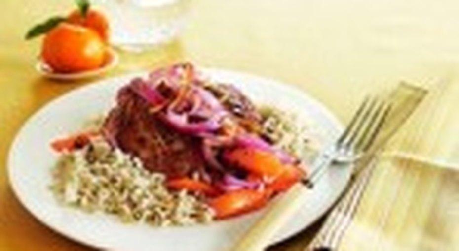 РЕЦЕПТЫ: готовим свинину вапельсиновом соусе