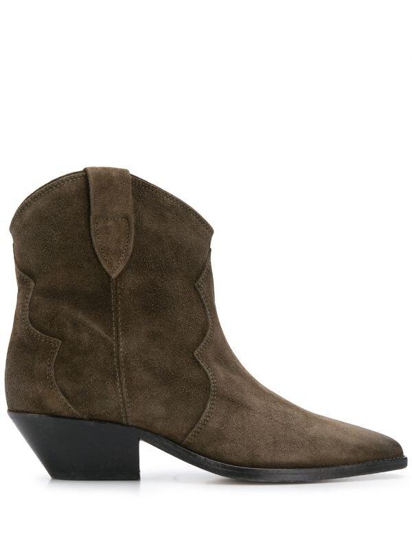 Isabel Marant ковбойские ботинки с заостренным носком, 54 038 руб