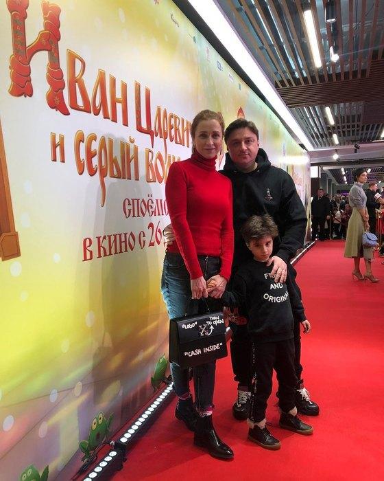 Максим Лагашкин, Екатерина Стулова, Лука Лагашкин