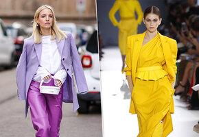 Новые модные: какие оттенки должны быть в вашем гардеробе этой весной?