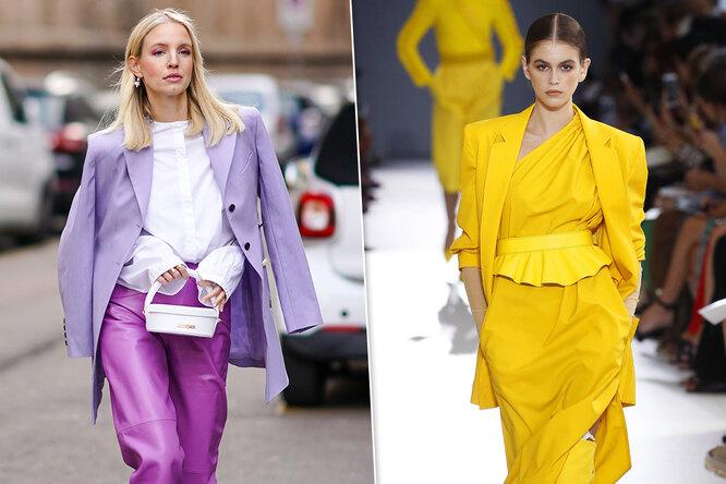 Новые модные: какие оттенки должны быть ввашем гардеробе этой весной?