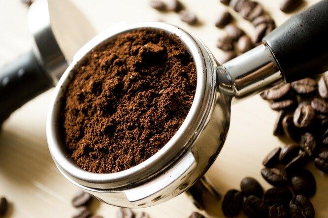 молотый кофе, кофе, черный кофе, кофе в турке молотый