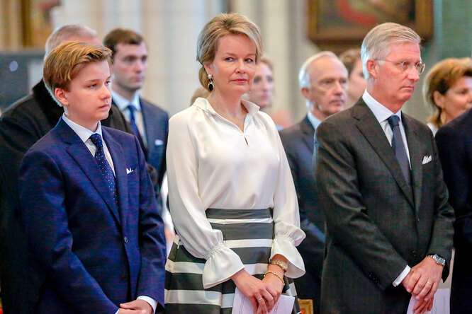 Король Бельгии Филипп, Габриэль Бодуэн Карл Мария