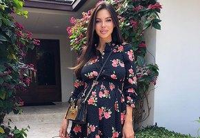 Беременная Оксана Самойлова похвасталась достижениями своей 2-летней дочери