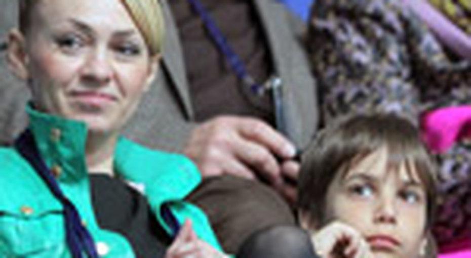 Рудковская познакомила детей сПлющенко