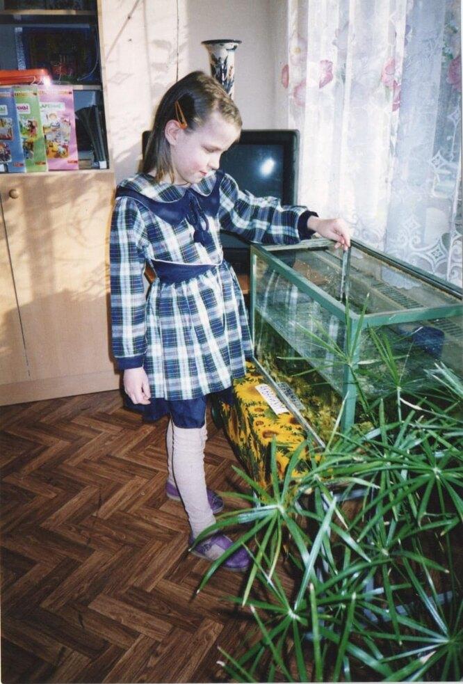 Кристина в детском доме. Фото из личного архива