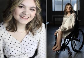 «Это другая сила»: московская студентка о жизни с несовершенным остеогенезом