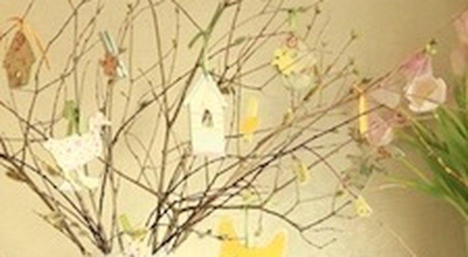 Пасхальное дерево своими руками. Видео мастер-класс