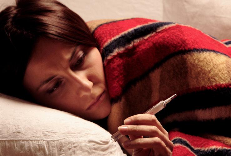 Какая температура при гриппе у взрослых