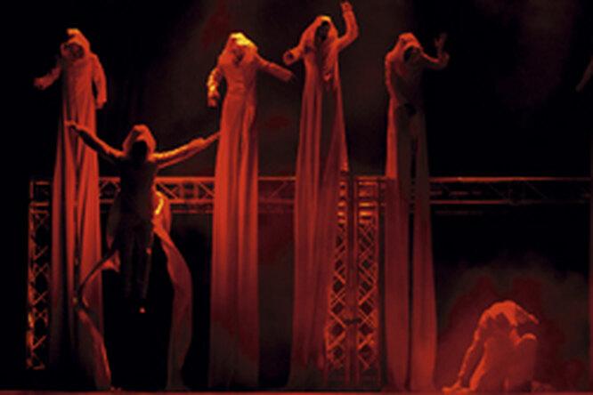 Гастрольный тур шоу-балета Aeternum