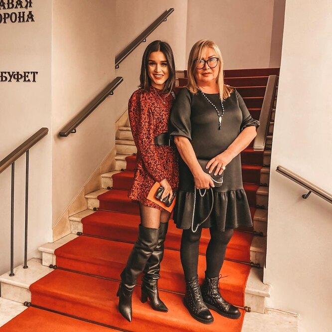 Ксения Бородина с мамой