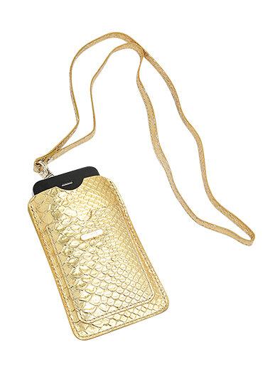 Золотой чехол для телефона, Uterque