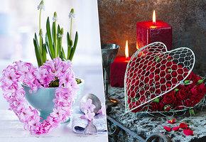 Миром правит любовь: как украсить дом ко дню святого Валентина