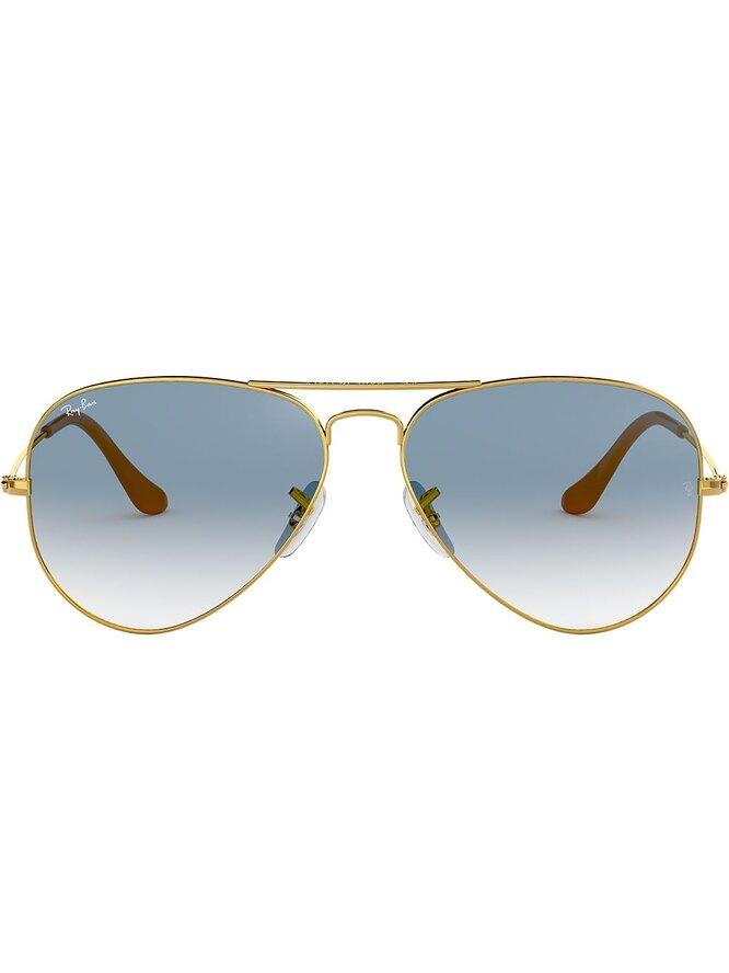 Классические солнцезащитные очки-авиаторы, Ray-Ban, 13087 руб