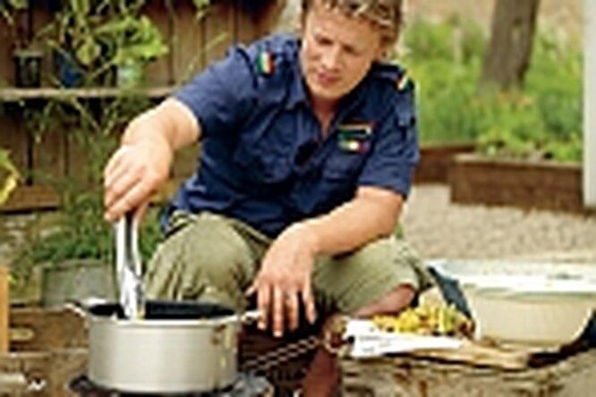 Джейми Оливер: дома, накухне ив огороде