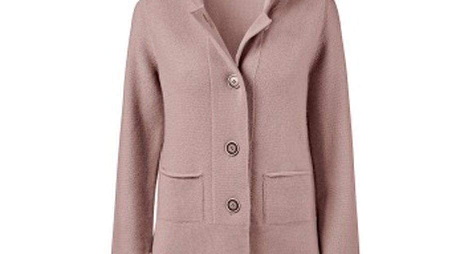 Как носить ис чем сочетать трикотажный пиджак