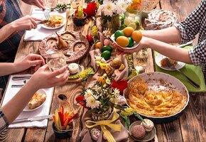 Какие блюда нужно ставить на пасхальный стол