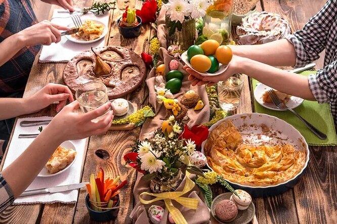 Какие блюда нужно ставить напасхальный стол