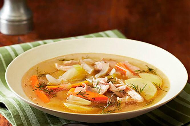 Куриный суп с фенхелем