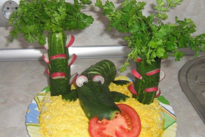 Детский салатик