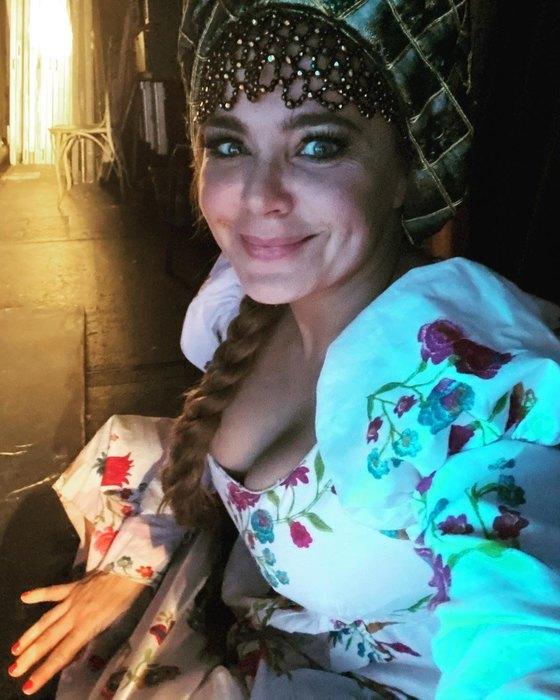 Ирина Пегова вобразе Царь-Девицы