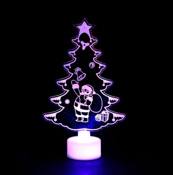 US World Store, Рождественский ночной светильник в виде елки, 120 руб