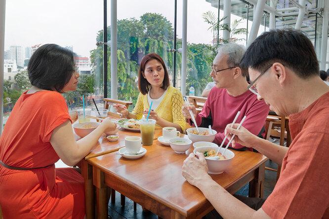 Долголетие сингапурцев