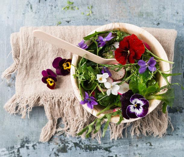 10 съедобных цветов, которые вы можете вырастить надаче