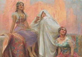 Поэтесса Валлада, дочь халифа, которая любила кого хотела и которую изучают в школах