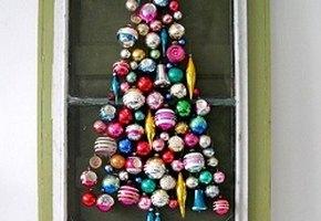 Необычные новогодние елки из подручных материалов