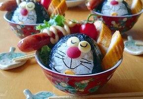Многодетная мама из Японии делает невероятные блюда. Их жалко есть!