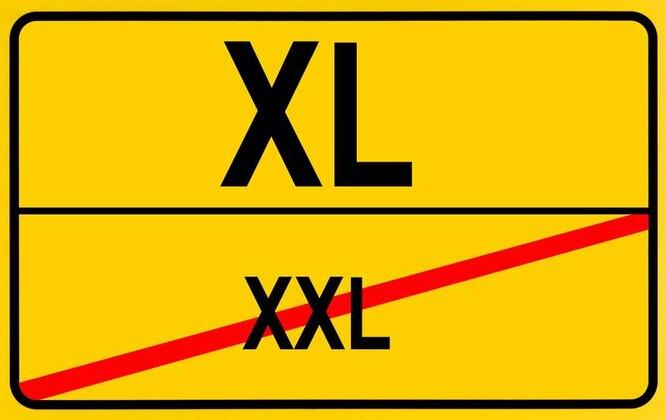 похудеть при размере xxl