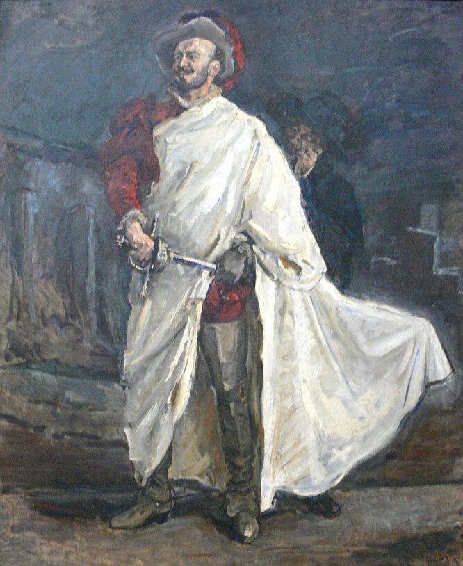 Дон Жуан в опере Моцарта «Дон Жуан», картина Макса Слевогта