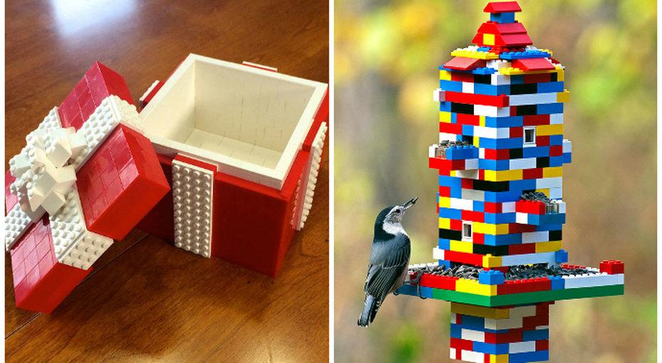 10 гениальных способов, как использовать детали Lego вбыту