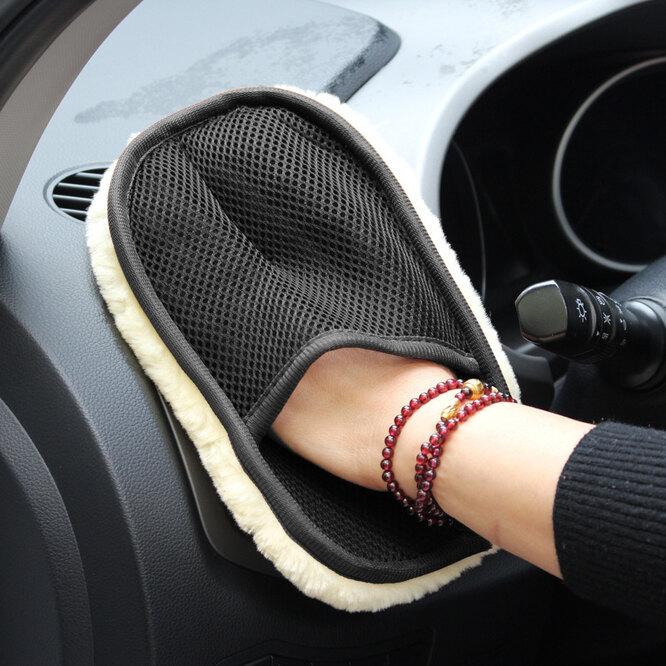 Перчатка для мытья авто, Aliexpress, 76 руб.
