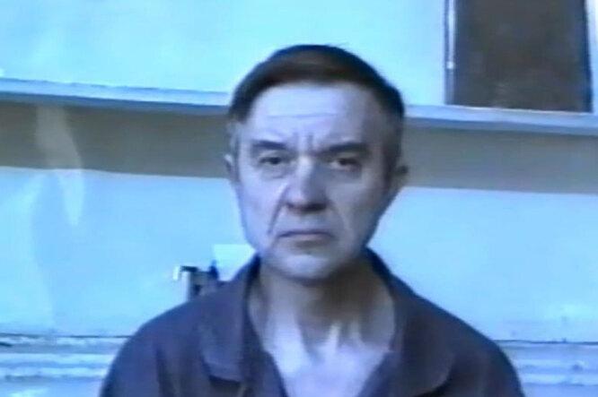 """""""Скопинский маньяк"""" Виктор Мохов. Скриншот YouTube фото"""