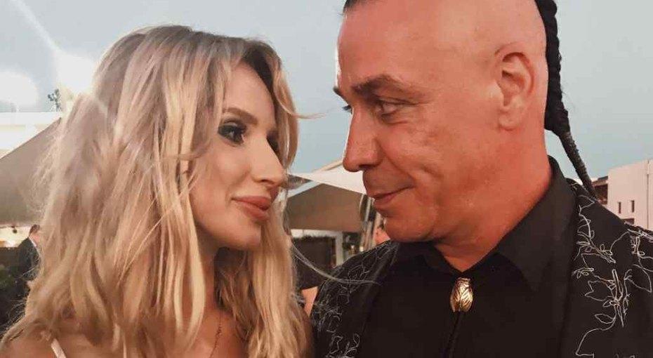 Светлана Лобода вместе сдочерью посетила закрытый концерт Тилля Линдемана
