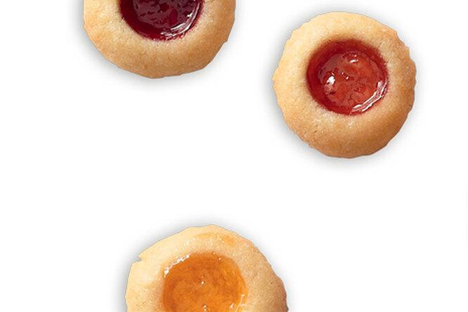 Мини - печенье с джемом