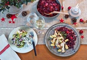 На что заменить самые калорийные продукты за праздничным столом?